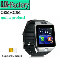 Top 3 factory!New brand 2017 dz09 bluetooth smart watch phone with SIM Card and Camera Mobile Watch Phones