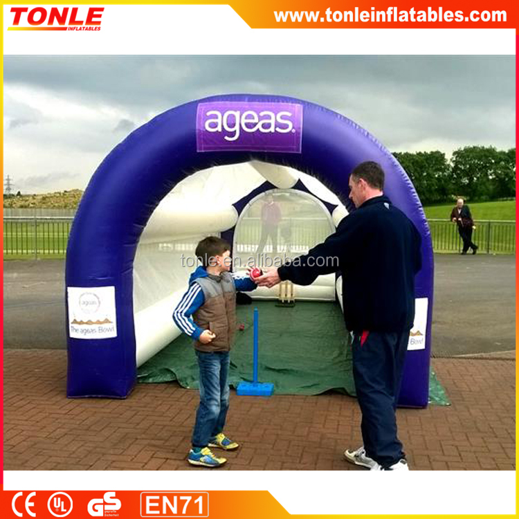 IDEAL FOR ALL TYPES Inflatable Speed Cage, inflatable Cricket Speed Cage