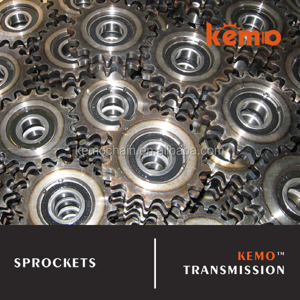 Sprocket with bearings