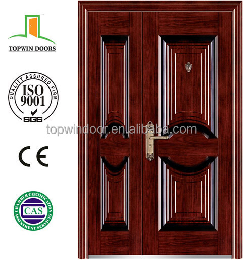 Best selling exterior house using OEM design non-standard steel security door