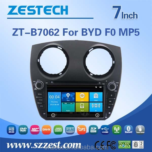 made in china Car Dvd player for BYD F0 MP5 Car Dvd playern with factory price