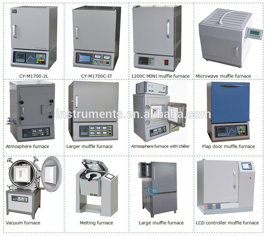 Desktop high temperature 1600C compact vacuum muffle furnace for laboratory