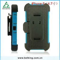Three proofings case for iPhone 6/ Belt Clip Holster for iPhone 6 4.7 hard cover