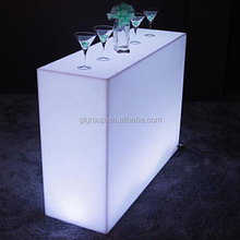 Led Cocktail <strong>Bar</strong> Counter Waterproof Straight Counter For Home <strong>Bars</strong> at 16 color changing