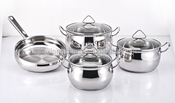 stainless steel apple shaped look cookware/parini cookware reviews