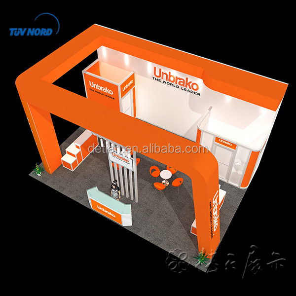 2015 cheap wooden exhibit booth,collapsible booth design for trade fair show