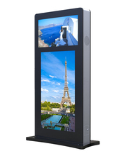 "32""+55"" outdoor double-sided digital signage"