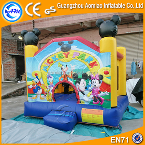 Golden inflatable bouncer factory supplier, Amazing mouse inflatable bounce house