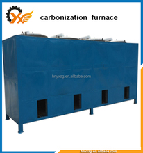 The most popular energy saving and environmental protection, gas recycling use of the charcoal carbonization oven kiln