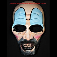 Army of Two Airsoft Paintball BB Gun Salem Helmet Goggle Mask Soft Air Maske Maskque - captain Spaulding MA92