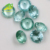 round cut 137#green loose gemstone synthetic spinel gemstone