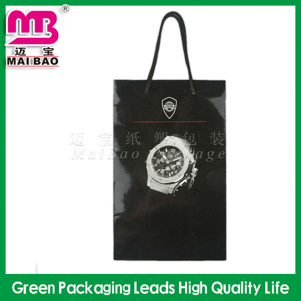 Guangzhou factory simple smart shopping paper bag