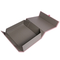 Custom print luxury magnetic closure folding rigid box cardboard bridesmaid gift paper box packaging with logo