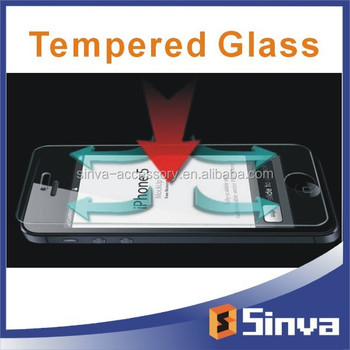 2015 Hot new products on alibaba privacy tempered glass screen protector for iphone 6 plus