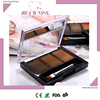 Brow powder kit for makeup eyebrow cosmetics on face