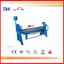 WS-1.5x2500 sheet metal manual folding machine