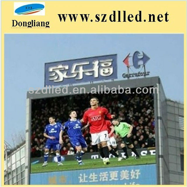 Cost Effective P25 Outdoor Full Color Advertising Led Sign Board
