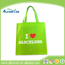 OEM or ODM I love barcelona eco-friendly non woven gift bags for mens