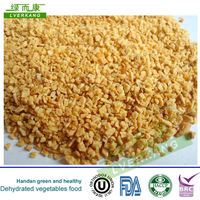 26-40mesh Dehydrated vegetable fried garlic granules from Tianjin or Qingdao port