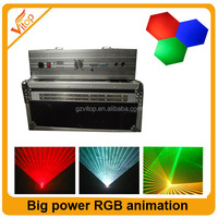 3w blue laser / Big power RGB animation laser / 3w led laser rgb lights