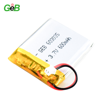 3.7v 600mah 603035 li-ion polymer battery
