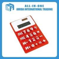 cheap and colorful electronic calculator