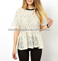 CHEFON Smock Tops in Lace CAT0144