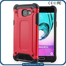 2016 Shockproof Dirtproof Durable 2in1 Hybrid Rubber TPU Waterproof case Mobile Phone Case samsung A710