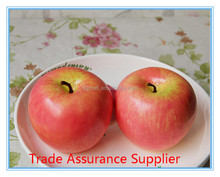 Home Decorative High Quality Fake Apple Artificial Foam Apple Fruit Produce by Yiwu Sanqi Crafts Factory