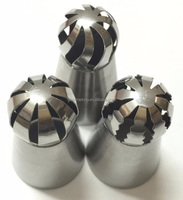 Russia Ball Shape Sphere Cream Stainless Steel Icing Piping Nozzles Pastry Decorating Tips Cake Cupcake Decorator Rose Tool