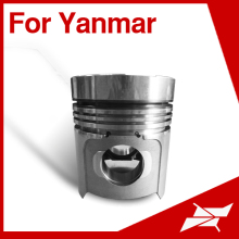 Taiwan piston for Yanmar 6HA marine diesel engine spare parts