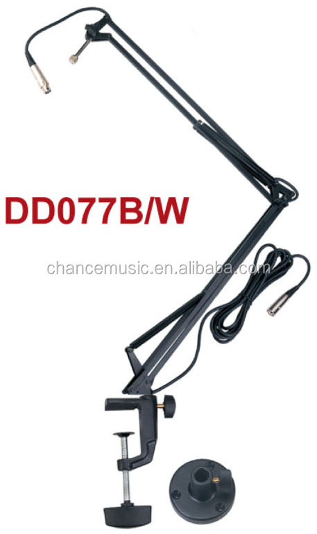 Microphone MIC Suspension boom Scissor Arm Stand holder ABC-077B/W