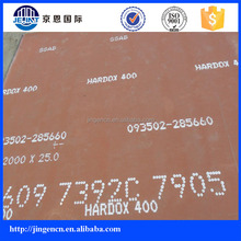 HARDOXX400 anti friction plate for coal mining machine