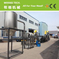 Waste HDPE PP plastic bottle recycling machine / equipemt manufacturers in china