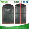 non woven custom wholesale garment bag/foldable garment bag/suit cover bag