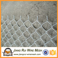 2016 China high quality galvanized chain link fence