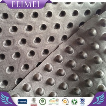100%Polyester Ultrasonic embossed knitting fabric