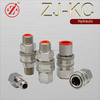 ZJ-KC Non-valves stainless steel quick connect water fitting