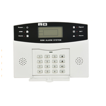 Professional Latest High Quality Tech Manual Smart Wireless 868Mhz Gsm Sms Security Home House Burglar Alarm System