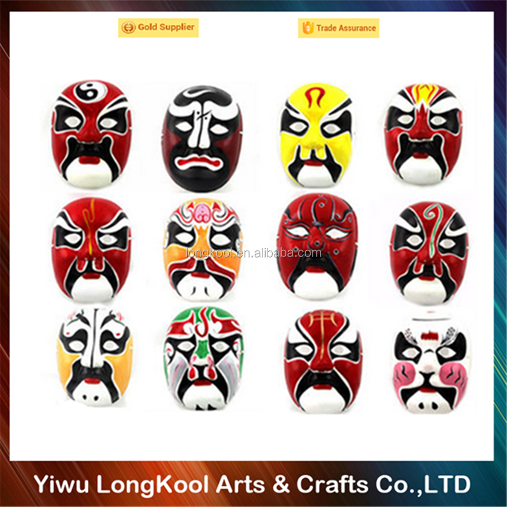 2016 Popular Chinese culture adult Beijing opera mask wholesale party mask