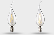 CE approval newest design flame tip candle led filament bulb for home lighting