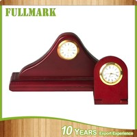 Simple style hot sale educational wooden stand clock