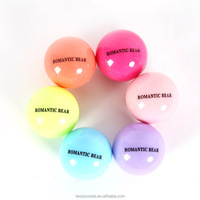 Cute Round Ball Shaped Container Magic Makeup Lip Gloss