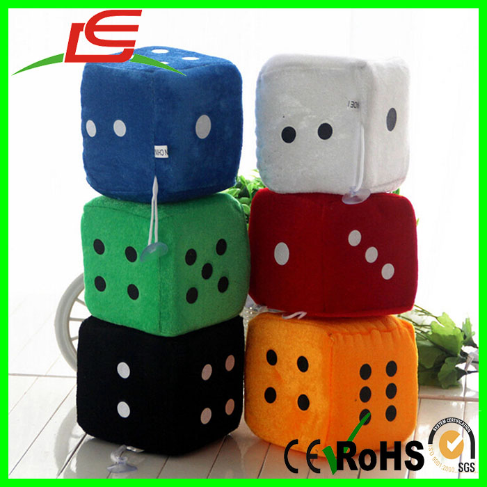 Kids Activity Games Props Creative Party Plush Toy Soft Dice