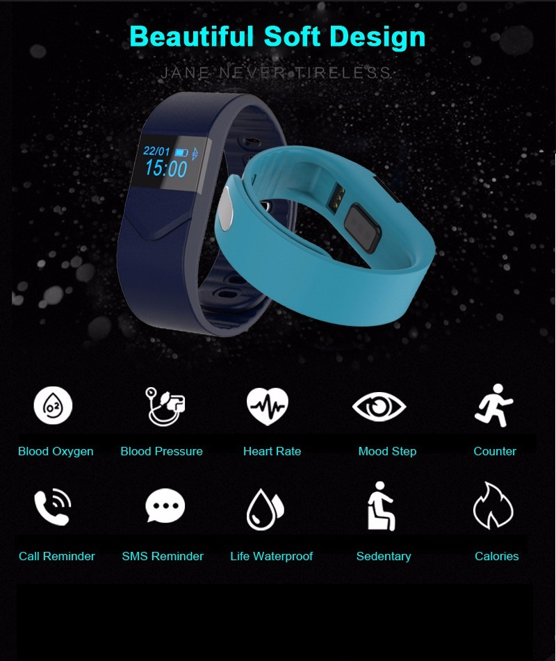 M5 Smart band Blood Pressure Oxygen Activity Tracker Monitor Cardiaco Pedometer Fitness SmartBand Waterproof Wristlet