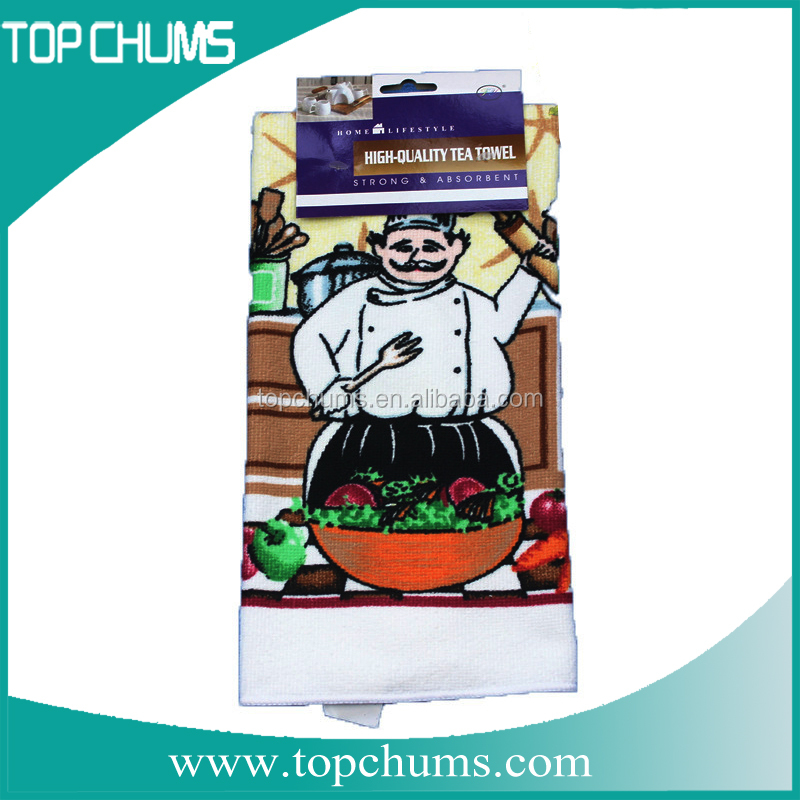 China microfiber tea towel,custom printed jacquard tea towel,digital print microfiber fabric for carpet