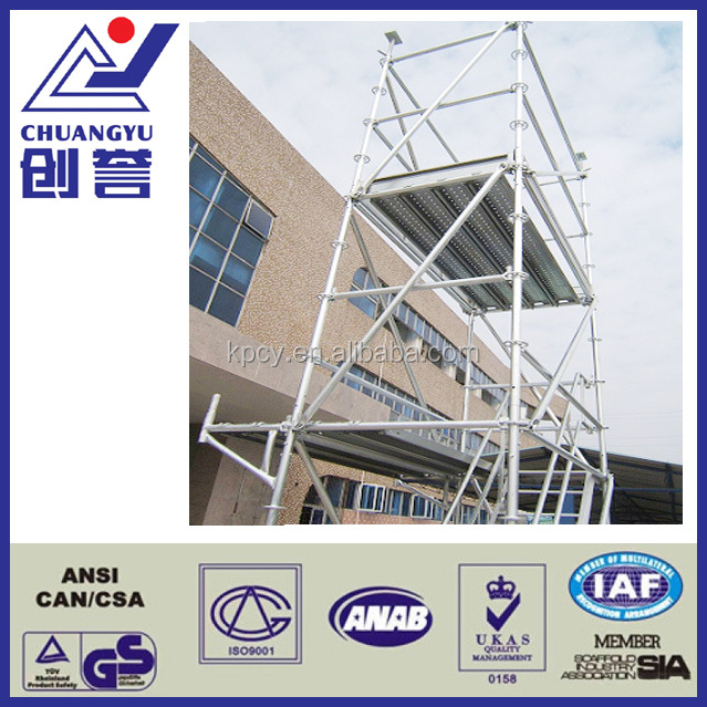 Construction Steel Ring lock Scaffolding System For Sale