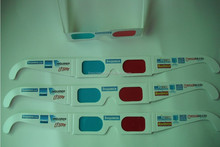 custom paper anaglyph 3d glasses