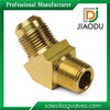 45 Degree Brass Elbow Connector