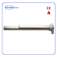 Tybonder301 Fire Exit Hardware, Fire Rated Door Push Panic Bar Stainless Steel Exit Device